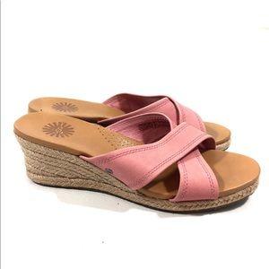 UGG Canvas Slide Sandals